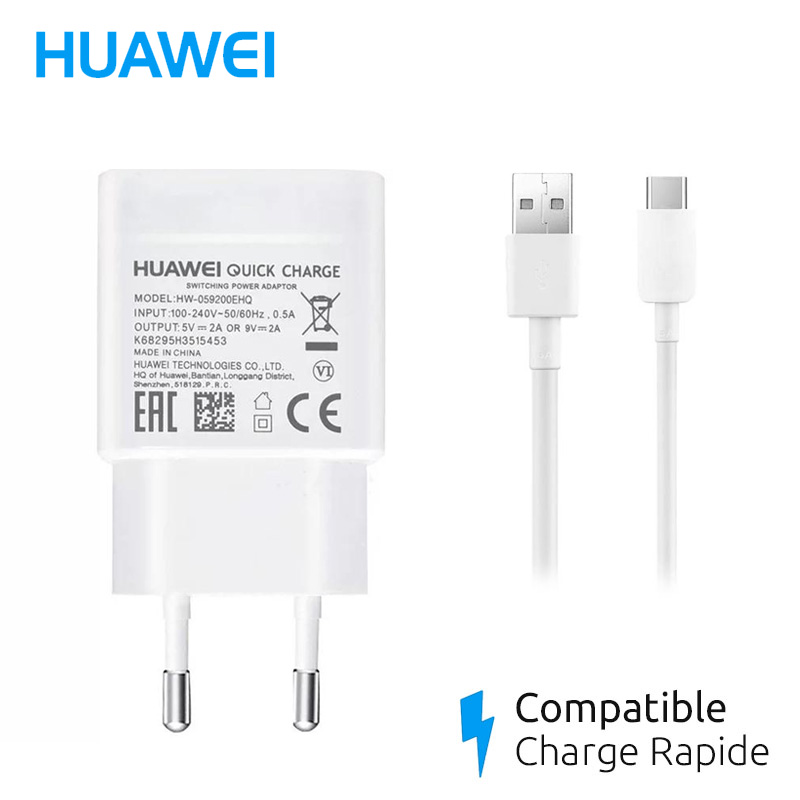 chargeur Huawei p30 lite