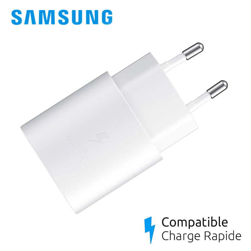 chargeur samsung galaxy s10 rapide