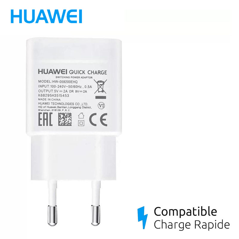chargeur mate 20 lite