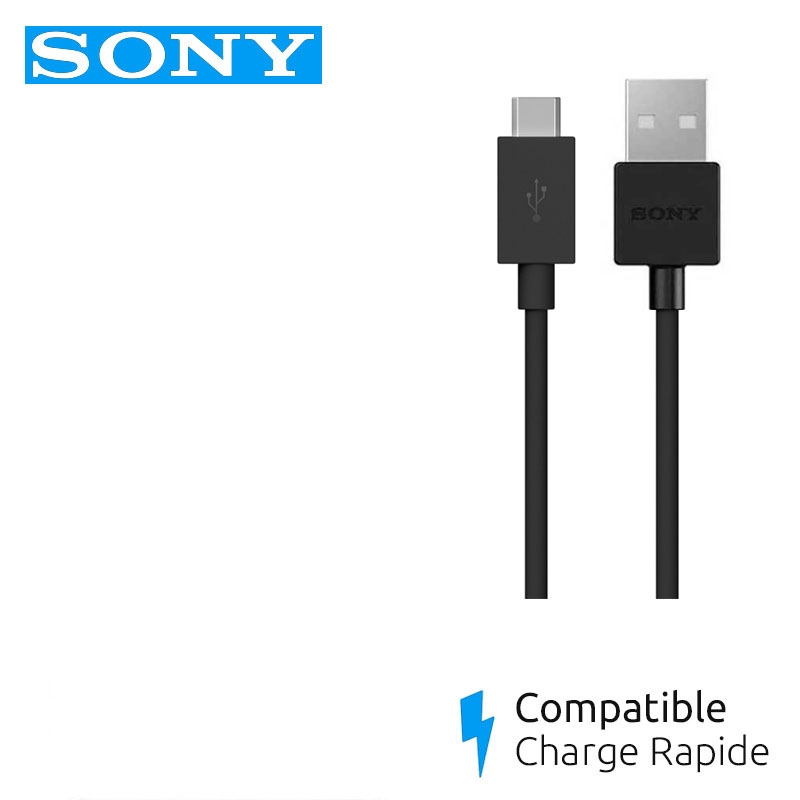 chargeur sony xperia xa2 cable