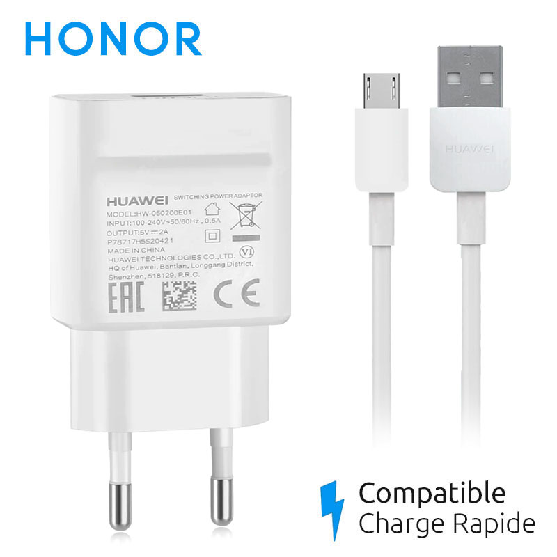 chargeur honor 9 lite