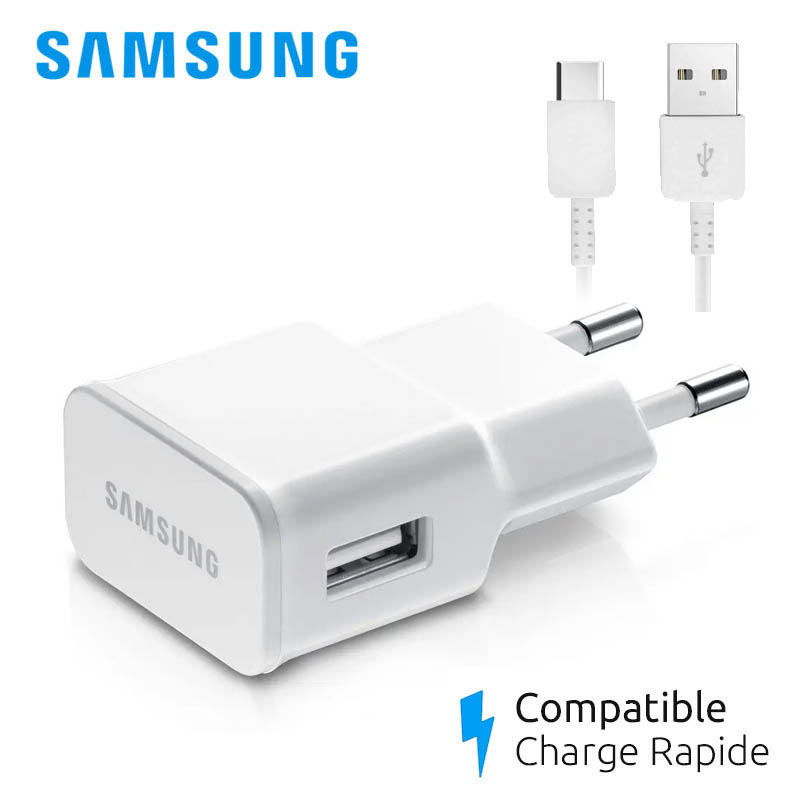 chargeur samsung galaxy s8 rapide
