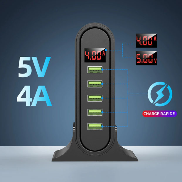 station recharge charge usb