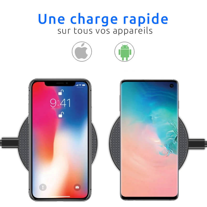 chargeur telephone induction rapide